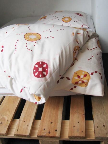 starflower rosa bettw sche ribers textil design. Black Bedroom Furniture Sets. Home Design Ideas